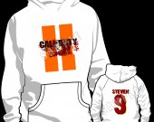 Call of Duty Black Ops 2 Zombies Personalized  Hooded (Hoodie) Sweatshirt - Style 1