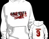 Call of Duty Black Ops 2 Zombies Personalized Hooded (Hoodie) Sweatshirt - Style 2
