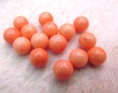 top quality 10mm 12pcs naturl coral gemstone Lucite round ball red pink white oranger mixed jewelry bead--half drilled