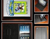 Skylanders Swap Force Night Shift iPad Case - Fits iPad 2, 3 and 4 - Great Gift Idea