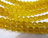 AAA grade 5strands 6mm  crystal gergous round heart  handmade faceted  multicolor jewelry bead