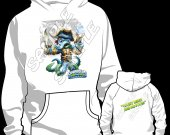 Skylander Swap Force Wash Buckler Hooded Sweatshirt (Hoodie) - Version 2