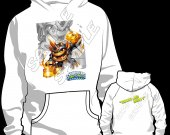 Skylander Swap Force Grim Creeper Hooded Sweatshirt (Hoodie) - Version 2
