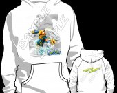 Skylander Swap Force Free Ranger Hooded Sweatshirt (Hoodie) - Version 2