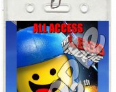 The Lego Movie Set of 12 VIP Party Invitation Passes - Style 4