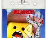 The Lego Movie Set of 12 VIP Party Invitation Passes - Style 8
