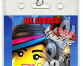 The Lego Movie Set of 12 VIP Party Invitation Passes - Style 9