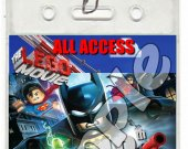 The Lego Movie Set of 12 VIP Party Invitation Passes - Style 11