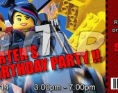 The Lego Movie Set of 12 VIP Party Invitation Passes - Style 13