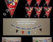 The Lego Movie 6 Triangle Pennant Banner