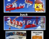 The Lego Movie Set of 12 Goodie Bag Toppers #8