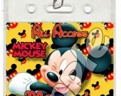 Mickey Mouse Set of 12 VIP Party Invitation Passes or Party Favors - Style 1