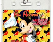 Mickey Mouse Set of 12 VIP Party Invitation Passes or Party Favors - Style 2