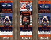Florida Gaters Football Party  Invitation - for Birthday, Baby Shower, Save the Date - Printable, DIY