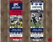 Penn State Football Party  Invitation - for Birthday, Baby Shower, Save the Date - Printable, DIY