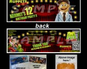 Muppets Most Wanted Set of 12 Goodie Bag Toppers #7