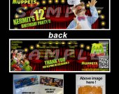 Muppets Most Wanted Set of 12 Goodie Bag Toppers #8