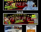 Muppets Most Wanted Set of 12 Goodie Bag Toppers #9