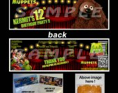 Muppets Most Wanted Set of 12 Goodie Bag Toppers #10