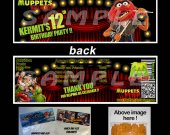 Muppets Most Wanted Set of 12 Goodie Bag Toppers #11