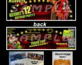 Muppets Most Wanted Set of 12 Goodie Bag Toppers #12