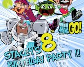 Teen Titans GO Personalized 4x6 Birthday Party Invitations