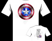 CAPTAIN AMERICA Personalized T-Shirt - Style 1