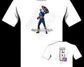 CAPTAIN AMERICA Personalized T-Shirt - Style 5