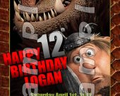 HOW TO TRAIN YOUR DRAGON 2 Personalized 4x6 Birthday Party Invitations - Style 4