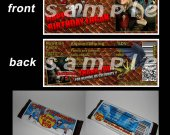 HOW TO TRAIN YOUR DRAGON Set of 12 Personalized Candy Bar Wrappers Party Favors STYLE 2