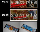 HOW TO TRAIN YOUR DRAGON Set of 12 Personalized Candy Bar Wrappers Party Favors STYLE 1