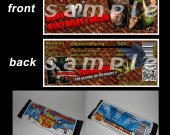 HOW TO TRAIN YOUR DRAGON Set of 12 Personalized Candy Bar Wrappers Party Favors STYLE 3