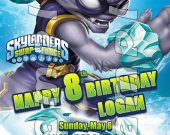 SKYLANDERS SWAPFORCE Personalized 4x6 Birthday Party Invitations - Style 5