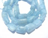 2strands 8x10mm wholesale high quality  natural aquamarine-beryl gemstone rectangle ablong