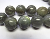 8 10 12 14 16 18mm full strand  genuine labradorite  beads , round ball shiney blue jewelry beads