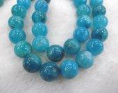 bulk 5strands 8mm 10mm 12mm genuine hemimorphite gemstone beads round ball blue jewelry beads