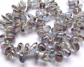 8-20mm 16inch  AA grade  genuine rock crysal quartz freeform chips branch mstic AB blue purple jewelry beads