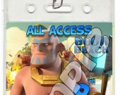 Boom Beach Set of 12 VIP Party Invitation Passes or Party Favors - Style 4