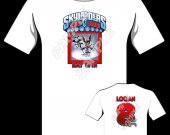 Skylanders Trap Team Bat Spin Personalized T-Shirt