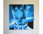 Handmade Liara T'Soni, Mass Effect portrait