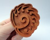 Handmade Zerg Starcraft 2 cookie mold - including recipe and instructions