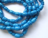 last batch 5strands jade bead barrel rondelle assortment blue chain connector spacer