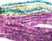 high quality 100pcs  8 10 12mm  Calibrated Druzy Cabochon square box  rainbow assortment  jewelry  charm bead