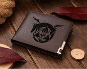 Fullmetal Alchemist Logo Leather Wallet