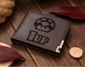 Mario 1up Leather Wallet