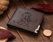 Mario Princess Peach Leather Wallet