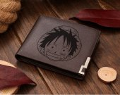 One Piece Luffy Leather Wallet