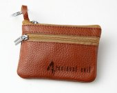 4 Resident Evil Leather Zippered Coin Bag Key Pouch