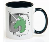 Attack On Titan Military Police Ceramic Coffee Mug CUP 11oz