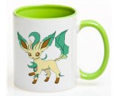 Pokemon Leafeon  Ceramic Coffee Mug CUP 11oz